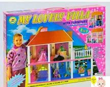 Кукольный домик My Lovely Villa  двухэтажный дом для кукол 2в1