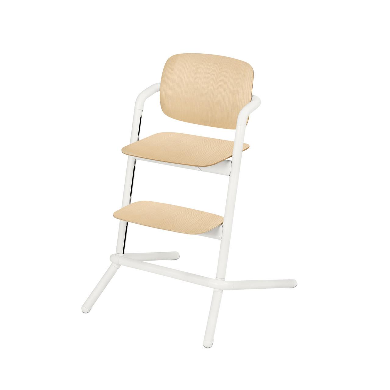 Дитячий стілець Cybex Lemo Wood Porcelaine White white