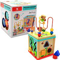 Деревянная игрушка Top Bright сортер бизи-куб «Большой лабиринт», 1+ (120315)