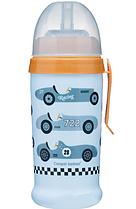 Поїльник непроливайка Canpol Babies Racing блакитний 350 мл (56/516_blul)