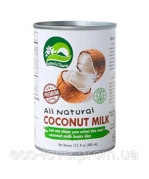 Кокосовое молоко Nature's Charm Ukraine, 400 мл
