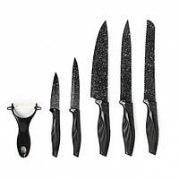 """Набор ножей 5шт.+овощечистка """"Bass""""(B5980), фото 1"""