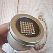 Магнитный конструктор антистресс Куб Нео NeoCube игрушка головоломка 216 шт по 5 мм Silver (живые фото), фото 2