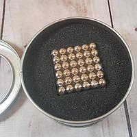 Магнитный конструктор антистресс Куб Нео NeoCube игрушка головоломка 216 шт по 5 мм Silver (живые фото)