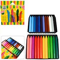 """Олівці воскові 24 кольору JUMBO """"CrayonLab"""""""