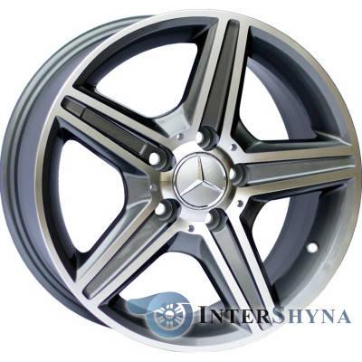 Литые диски Replica Mercedes (CT1402) 8.5x18 5x112 ET45 DIA66.6 GMF, фото 2