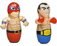 Надувная игрушка-неваляшка Боксер и борец, 2 вида, цена за 1 шт SKL11-249658