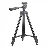 Штатив для фотоаппарата трипод с чехлом 3120A Черный 149654