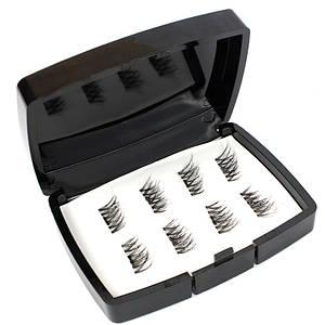 Ресницы на магнитах в квадратной косметичке 140142
