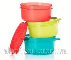 Мини контейнер, чаша для сохранения, хранения, сервирования 200 мл, 3 шт. Tupperware (Тапервер)