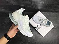 Кросівки чоловічі Nike Air Max 270, білі 44