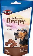 Ласощі для собак Trixie «Chocolate Drops» 75 г (шоколад)