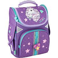 Рюкзак шкільний каркасний GoPack Education для дівчаток Unicorn dream (GO20-5001S-1), фото 1