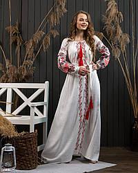 Платье в украинском стиле Петраковка