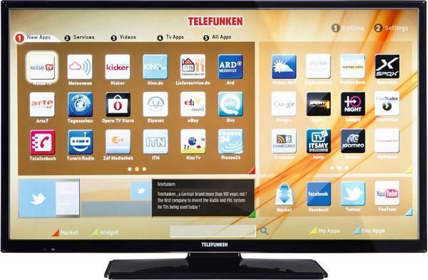 Телевизор Telefunken B32F545A (Full HD / 600Hz / Smart TV / Wi-Fi / DVB-T2/T/S/S2/C)