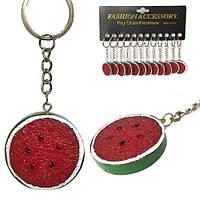 Брелок на ключи Долька арбуза 12 шт