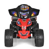 Квадроцикл Bambi ZP5118E-2 для детей от 3 лет черно-красный
