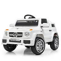 Машинка Bambi Mercedes M 2788EBLR-1 белый электромобиль для детей