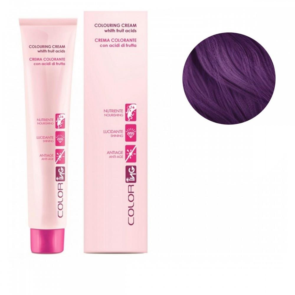 Крем-краска профессиональная ING Profеssional фиолетовый микстон (корректор), 100 мл.