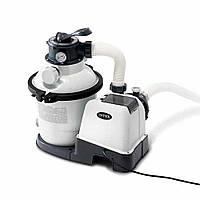 Песочный фильтр-насос Intex 26644 , 4,5м3/ч, 4500 л/ч резервуар для песка 12кг
