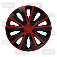 Колпаки колес Elegant RAPID RED&BLACK R13