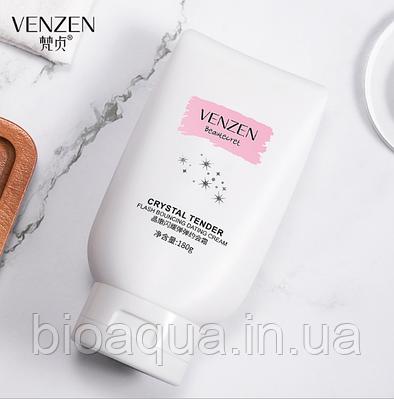 Увлажняющий крем для тела Venzen Crystal Tender Flash Bouncine Dating Cream 180 g