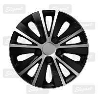 Колпаки колес Elegant RAPID SILVER&BLACK R13