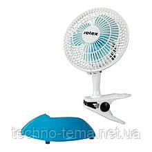 Вентилятор-прищепка настольный ROTEX RAT06-E