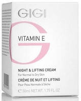 GIGI Vitamin E Night&Lifting Cream Ночной лифтинг крем 50 мл