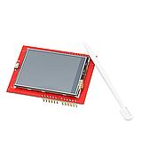 """Сенсорный дисплей Arduino TFT 2.4"""" LCD, фото 2"""