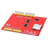 """Сенсорный дисплей Arduino TFT 2.4"""" LCD, фото 4"""