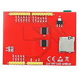 """Сенсорный дисплей Arduino TFT 2.4"""" LCD, фото 3"""