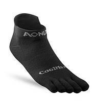 Носки Пять пальцев для бега CoolMax AONIJIE L 43-46 Черный