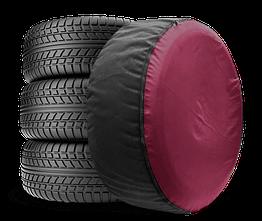 Чехол для запасного колеса Coverbag Full Protection S бордо