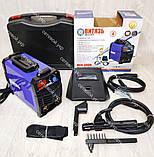 Сварочный аппарат в кейсе инвертор Витязь ИСА-380 + Маска хамелеон, фото 2