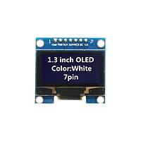 """OLED дисплей 1.3"""" SPI (белый) 128х64"""