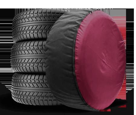 Чехол для запасного колеса Coverbag Full Protection XL бордо
