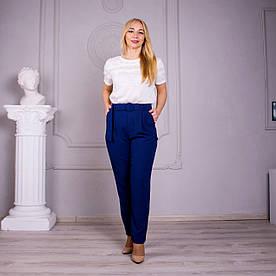 Женские брюки Яна синие
