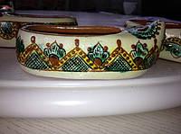 Декоративний черевичок ручної роботи (Косівський розпис)