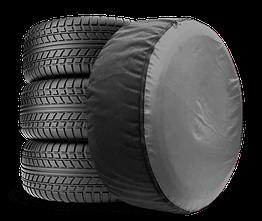 Чехол для запасного колеса Coverbag Full Protection L серый