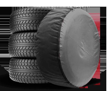 Чехол для запасного колеса Coverbag Full Protection XL серый