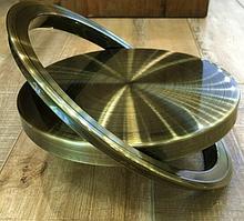 Кришка - люк для сміття, врізна в стільницю (антична латунь)
