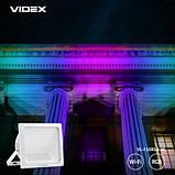 Прожектор 5*10W RGB Wi-Fi LED 3000-6500K 220V 900Lm VIDEX, фото 5