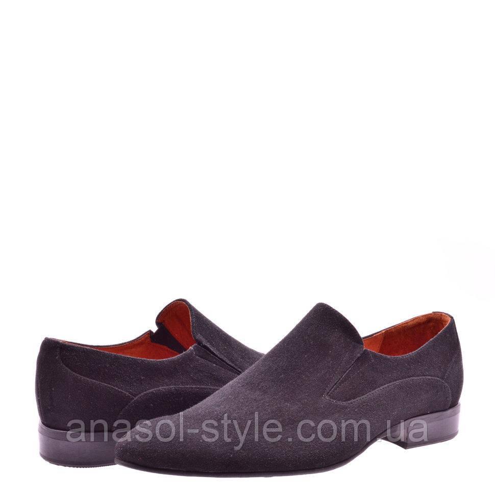 Туфли La Rose 1100 41 ( 28см ) Черная замша