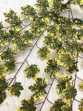 Осенние, кленовые листья. Ампельная зелень ( 98 см ), фото 2