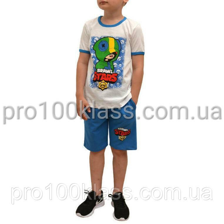 Костюм Brawl Stars футболка+шорты рост 116-122