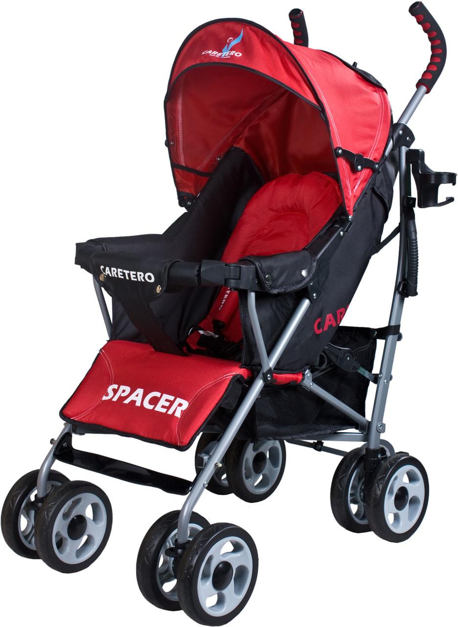 Прогулочная коляска Caretero SPACER CLASSIC RED