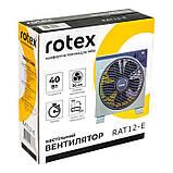 Вентилятор настольный ROTEX RAT12-E, фото 4