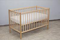 """Дитяче ліжечко """"Малютка"""" НАТУРАЛЬНИЙ, фото 1"""