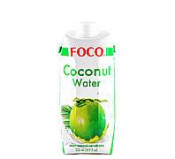 Кокосовая вода Foco 500 мл, фото 1
